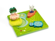Puzzel - 3d 1,2,3 froggy