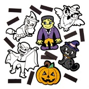 Halloween - figuren - magnetisch - ass/12