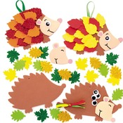 Herfst - foam - egels - decoratief - ass/5